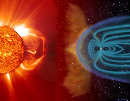 Solar wind and magnetosphere