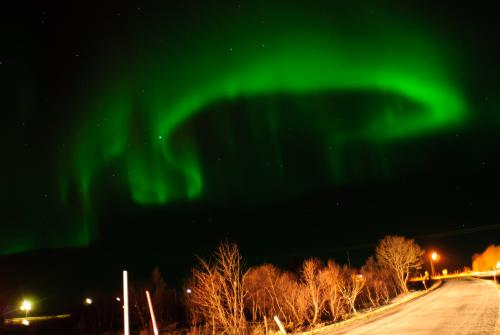 Aurora in the Norwegian Lofoten. Credit: Jeroen van Gent.